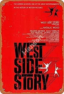No/Brand West Side Story Tin Teken Retro Metalen Geschilderd Art Poster Decoratie Waarschuwing Plaque Bar garage Yard Tuin...