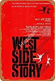 No/Brand West Side Story Metall Blechschild Retro Metall