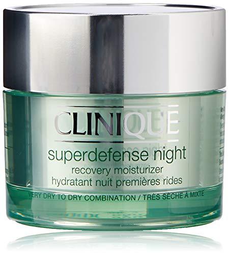 Clinique Crema Superdefense Night, Tipo di Pelle I-II - 50 ml