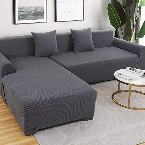 lxylllzs Sofa ÜBerwurf Stretch Sofabezug,Generation der einfachen rutschfesten Sofabezug, universelle universelle Sofabezug -1_235-300cm,Sofabezug FüR Sofa, Sofaschutz