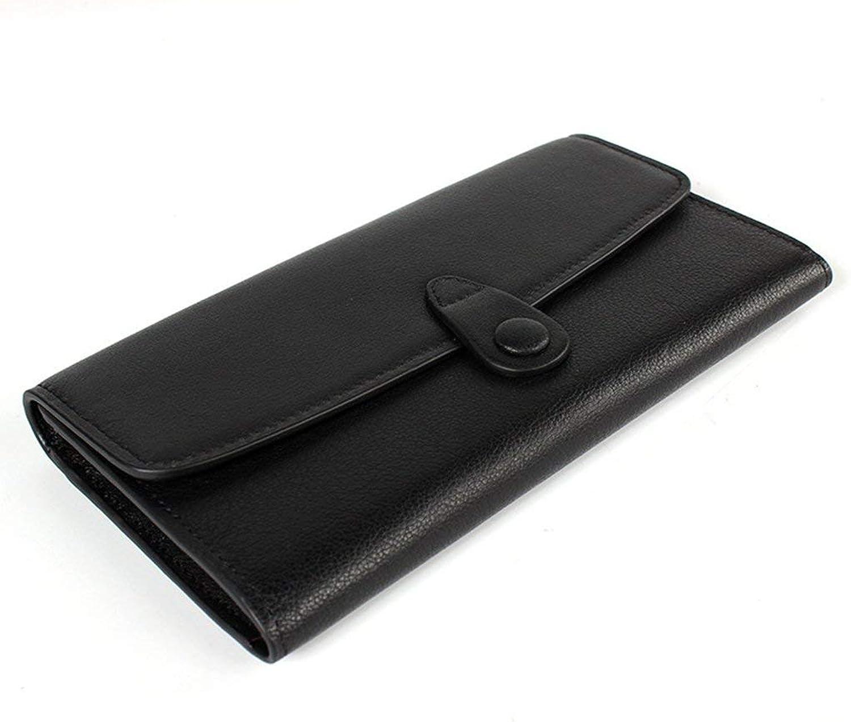Yter Mens-Kartenmappenhalter Herren Leder Geldbörsen RFID Sperrung Vintage Design Große Kapazität Brieftasche für Männer B07NQC3H71