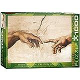 EuroGraphics - Rompecabezas Michelangelo, Tortugas Ninja, 1000 Piezas (EG60002016)