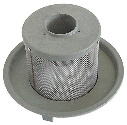 Elframo ronde filter voor vaatwasser C66, C44, D80, C33, C66dgt, C44dgt, D85 ø 145 mm hoogte 150 mm aanzuig-/afvoer