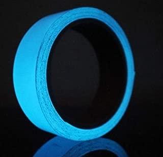 Sky Blue Glow in The Dark Luminous Tape. 5 Meters. Removable and Waterproof