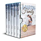 Martin Family Complete Box Set: All 5 books in the Martin Family Romance Series