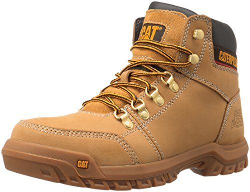 Caterpillar Men's Outline Work Boot, Honey Reset, 9 M US