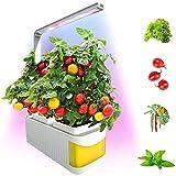 XWEM Plantas Planta En Maceta, Inteligente Siembra El Cultivo Sin Suelo Aerogarden Macetas De Plástico Lámpara Vegetal Tabla del LED Verde Hidropónico Creativo Ajustaron 360 Grados