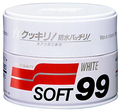 SOFT99 ( ソフト99 ) ワックス ニューソフト99 ホワイト ハンネリ 350g 00020