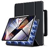 Gahwa Magnétique Coque pour iPad Pro 12 Pouces 2021/2020/2018, Smart Folio Housse Étui avec Auto...