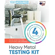 Heavy Metals in Water Test Kit - Check for Lead Mercury Iron & Copper Brochure