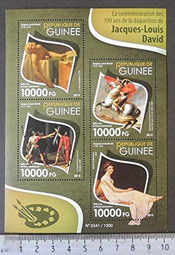 Guinea 2015 jacques louis david art napoleon women m/sheet mnh JandRStamps 454765
