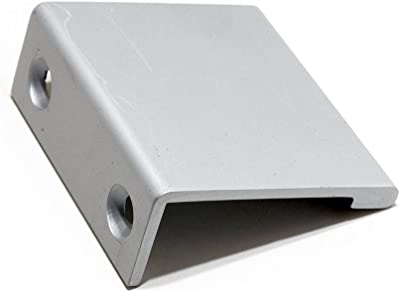 Richelieu Hardware - BP98983310 - Contemporary Aluminum Edge Pull - 9898-33 mm - Aluminum Finish