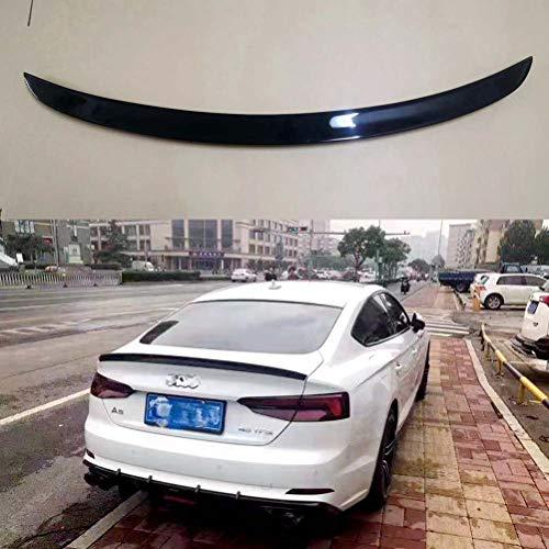 Alerón trasero negro brillante alerón de labios accesorios de coche para AUDI...