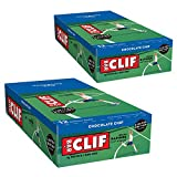 CLIF BARS - Energy Bars - Chocolate Chip - Made with Organic Oats - Plant Based Food - Vegetarian - Kosher (2.4 Ounce Protein Bars, 24 Count) Packaging May Vary