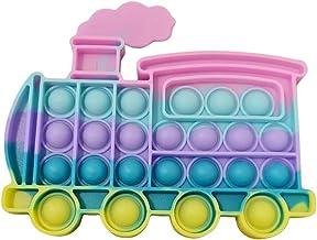 Pop It Fidget Toys Brinquedo Anti-stress Trem