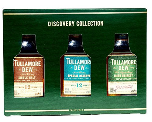 Tullamore DEW Discovery Collection 3x0,05L