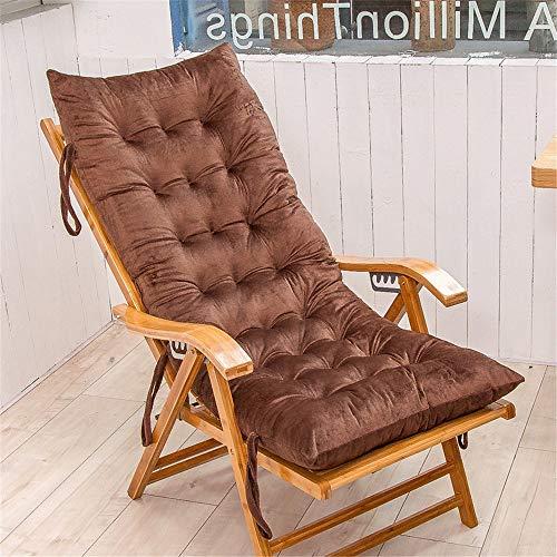 Cuscino A Dondolo Divano Cuscino Sedie Finestra di Spessore Patio Chaise Lounge al Coperto E Cuscinerie Esterne, Cuscino del Sedile (Color : Blue, Size : 125cm)