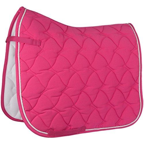 HKM by Reiterladen24 - Schabracke Cassandra Softice pink/Silber Warmblut Vielseitigkeit