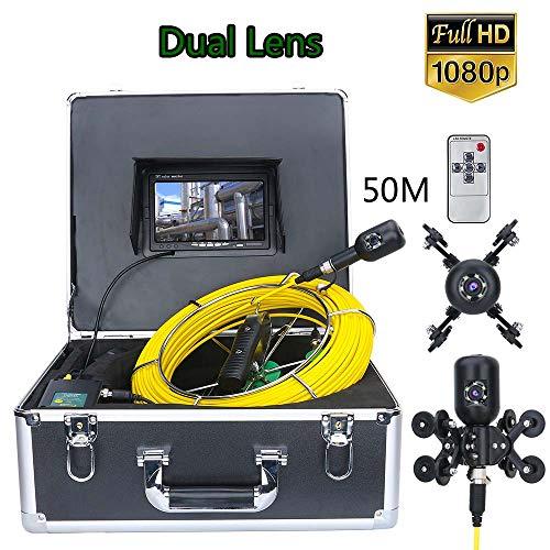 Rohr Inspektionskamera 1080P HD kamera inspektion dual lens, 7