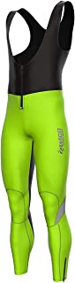 Zimco Pro Cycling Softshell Bib Tight Windproof Bike Thermal Hiviz Bib Pant