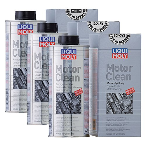 3x LIQUI MOLY 1019 Motor Clean Motorreinigung Additiv 500ml