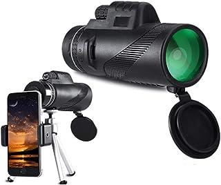 Telescopio monocular Fanville 12 x 50 HD Impermeable portátil telescopios Mejor Valor para observación de Aves y Senderismo monocular