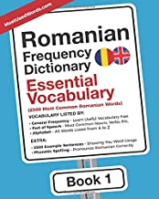 Romanian Frequency Dictionary - Essential Vocabulary: 2500 Most Common Romanian Words (Romanian-English)
