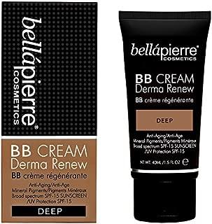 bb cream derma renew (deep) by bellapierre Cosmetics