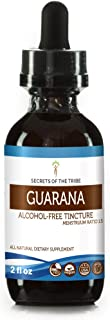 Guarana Tincture Alcohol-Free Extract, Organic Guarana (Paullinia cupana) Dried Seed (2 FL OZ)