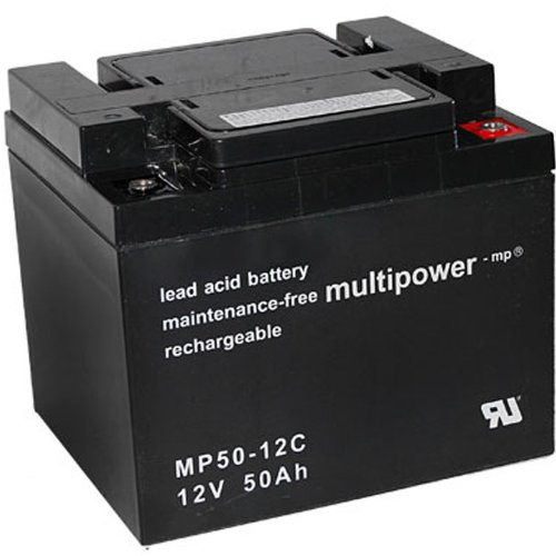 MultiPower > BleiGel Akku MP50-12C zyklenfest