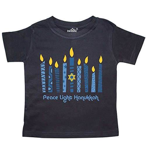 inktastic Peace Light Hanukkah Toddler T-Shirt 3T Black 27db5