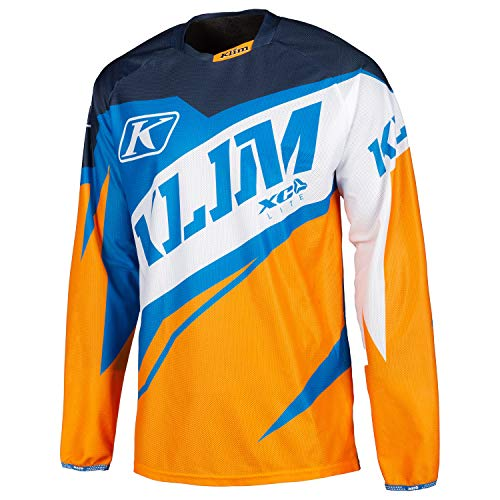 KLIM XC Lite Jersey XL Orange - Blue