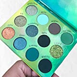 The Beauty Crop - Mojito Eyeshadow Palette | Highly Pigmented Shades | Richly Toned Palette | Comes in Matte, Creamy Metallic & Glitter Finish | Long Wearing | Makeup Kit | Cruelty Free