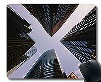 ユニークなカスタムマウスパッドマウスパッド、建物のファサード超高層ビル滑り止めラバーマウスパッド