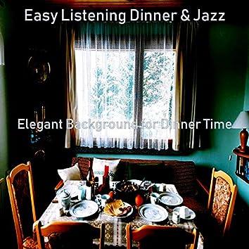Elegant Background for Dinner Time