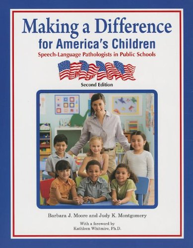 Making a Difference for America's Children:...