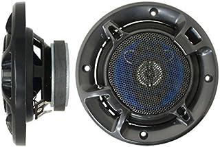 iimono117 車用 3WAY スピーカー 大迫力 180W 2個1セット / カー用品 カスタムフィット セパレート オーディオ