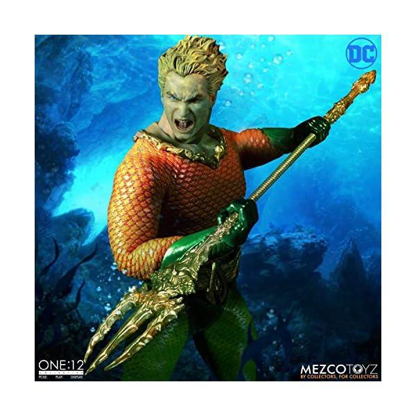 Figura Aquaman 17 cm. One:12. DC Cómics. Mezco Toyz 2