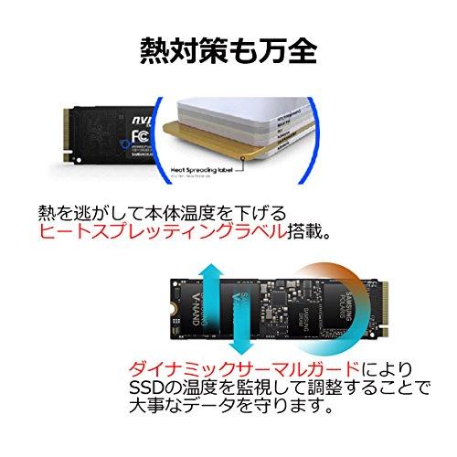 『Samsung SSD 250GB 960EVO M.2 Type2280 PCIe3.0×4 NVMe1.2 3年保証 エコPKG 正規代理店保証品 MZ-V6E250B/EC』の4枚目の画像