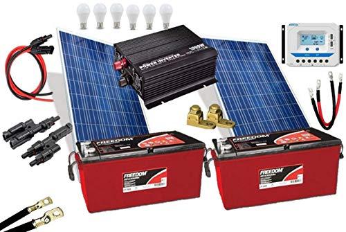 Kit Gerador de Energia Solar 300Wp