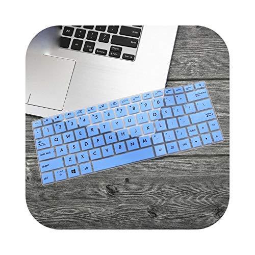 """Housse de clavier pour ordinateur portable Asus ZenBook 13 UX333 UX333FA UX333FN UX333F U3300 UX 333 UX 333 FA FN 13,3"""" Bleu"""