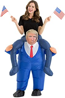donald trump inflatable costume