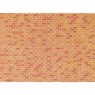 "FALLER 170608 - Mauerplatte ""Backstein"""