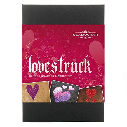 Glamourati 'LOVESTRUCK' Glitter Quarter Mark Kit voor paarden