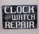 565pir Reloj de Metal y Reloj de reparación Tienda de Relojes Reloj de Pared Reloj de Pulsera Cuco Suizo Abuelo colector Antiguo Hombre Cueva Placa