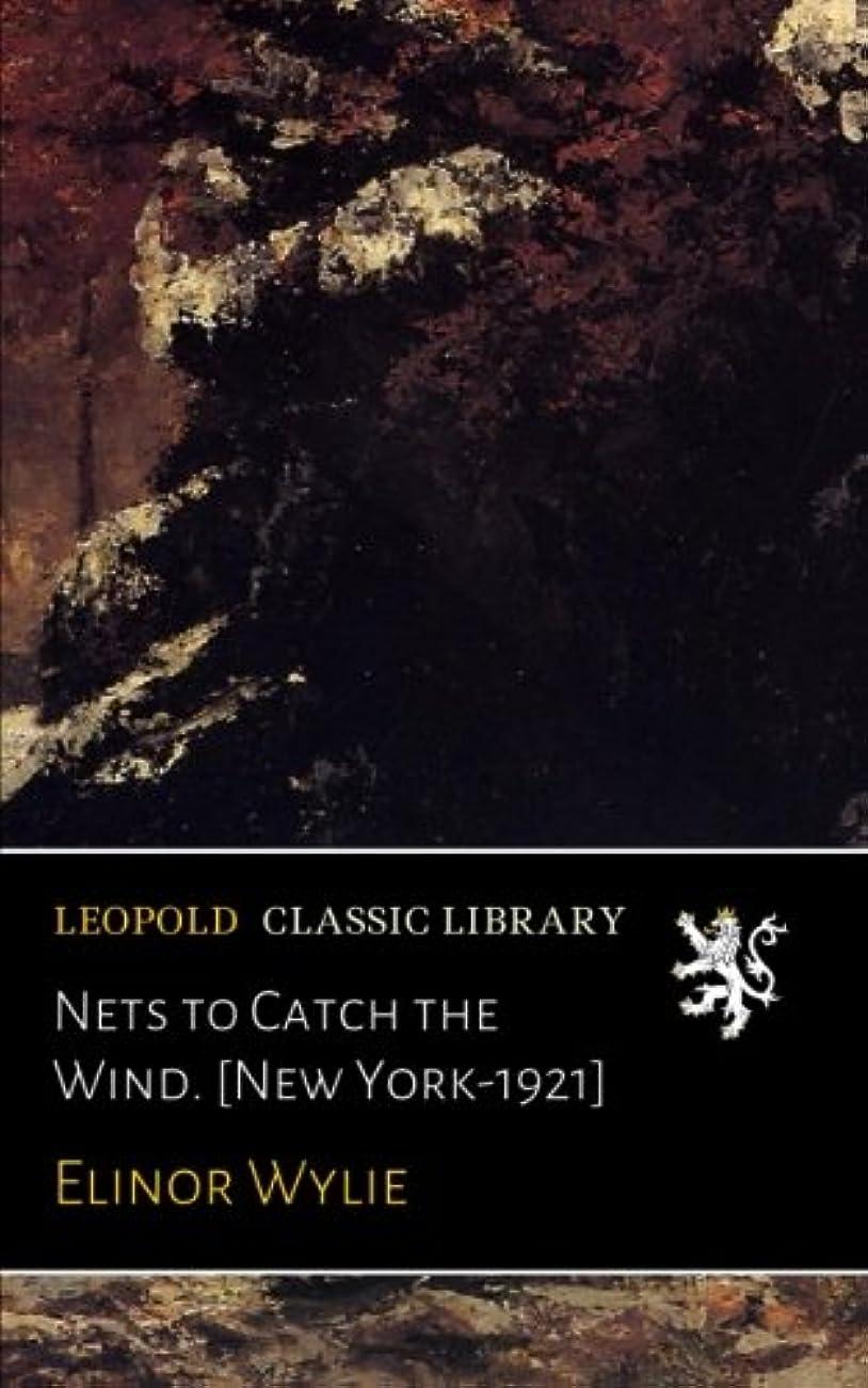 基本的なアンビエント曖昧なNets to Catch the Wind. [New York-1921]