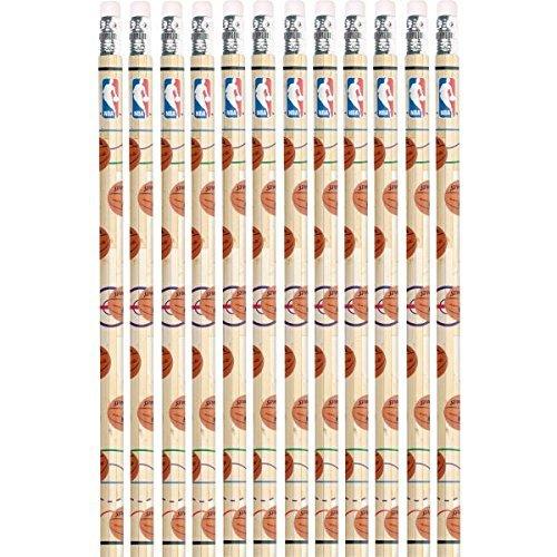 Amscan 395857 Spalding Basketball Collection Pencil Set, Party Favor | 12 pieces