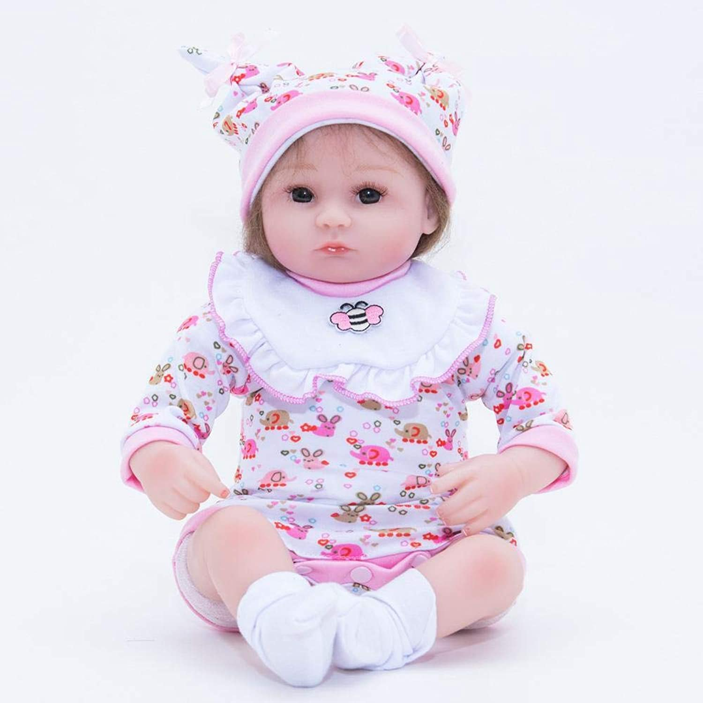 Hongge Reborn Baby Doll,Lebensechte Babypuppe Spielzeug 55cm