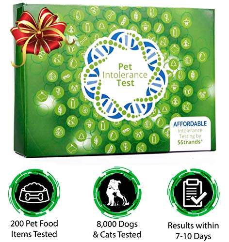 5Strands | Household Pet Food Ingredient Intolerance Test Kit | for Dogs, Cats