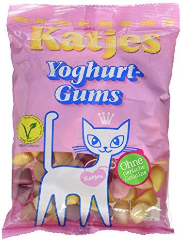 Katjes Yoghurt Gums, 4 -er Pack (4x 500 g)